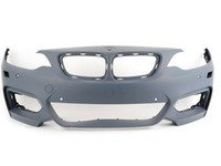 ES#2728125 - 51118058097 - Front Bumper - Complete front bumper cover, primed ready for painting - Genuine BMW - BMW