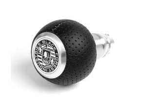 ES#3022031 - GS2 - BFI Heavy Weight Shift Knob - Air Leather  - Weighing in at approximately 215 grams the added inertial mass makes shifting effort substantially less while speeding up the process at the same time. - Black Forest Industries - Audi Volkswagen