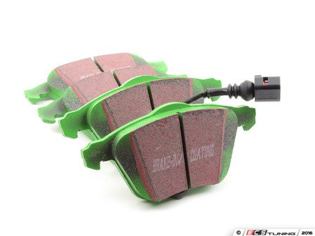ES#2893830 - DP21946 -  GreenStuff Performance Brake Pad Set - Mildly upgraded composite pad - EBC - Audi Volkswagen