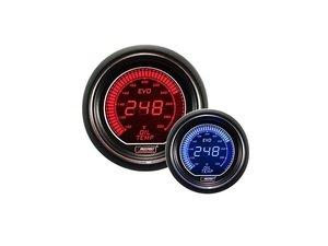 ES#3006400 - 216EVOEFP.PSI - EVO Series Digital Fuel Pressure Gauge - 0-100 Psi - Digital fuel pressure gauge with dimmable red or blue backlighting - Prosport Performance - Audi BMW Volkswagen MINI