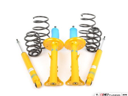 ES#2983696 - 46-000736 - B12 Pro-Kit Suspension System - Expertly matched performance Eibach Pro-line lowering springs and Bilstein shock/strut package for a dramatic increase in performance handling. World-famous Bilstein quality with a limited lifetime warranty! - Bilstein - BMW