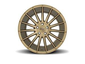 """ES#3022218 - FORM-001GKT2 - 19"""" Form - Set Of Four - 19""""x8.5"""" ET34 5x112 - Bronze - Niche Wheels - Volkswagen"""