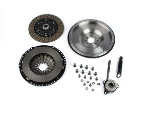 ES#4013575 - BFIMQBR3240ST1 - BFI Stage 1 Clutch Kit - Forged Steel Flywheel (18.85lbs) - Includes a lightweight 4140 forged steel flywheel, performance pressure plate and full faced steel back clutch disk. Rated for 290wtq. - Black Forest Industries - Volkswagen
