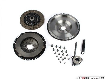 ES#3021857 - BFI20T3240ST1 - BFI Stage 1 Clutch Kit - Forged Steel Flywheel (18.85lbs) - Includes a lightweight 4140 forged steel flywheel, performance pressure plate and full faced steel back clutch disk. Rated for 290wtq. - Black Forest Industries - Volkswagen