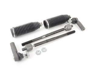 ES#2808533 - 1K0423810AKT6 - Tie Rod Service Kit - Kit services both left and right side - Assembled By ECS - Audi Volkswagen