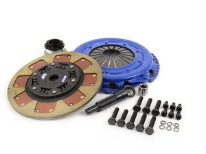 ES#2570127 - SA862 - Stage 2 Clutch Kit - Features a full faced, steel backed, pure kevlar rigid disc with a torque rating of 490 ft/lbs - Spec Clutches - Audi
