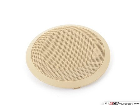 ES#99885 - 51417144563 - Beige Front Door Speaker Cover - Priced Each - Replace your broken speaker cover - Genuine BMW - BMW