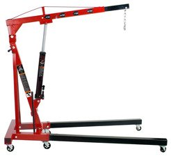 ES#2932644 - ATD7484 - 2-Ton Folding Engine Crane - With a heavy-duty welded construction this crane can lift any engine - ATD Tools - Audi BMW Volkswagen Mercedes Benz MINI Porsche