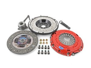 ES#3098726 - kmk7fhdoKT - Stage 2 Daily Clutch Kit - With Steel Flywheel  - Heavy duty version of the OE clutch engineered for extended life. Rated at 400 ft-lbs. - South Bend Clutch - Volkswagen