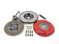 ES#3098727 - kmk7fhdofeKT - Stage 2 Endurance Clutch Kit - With Steel Flywheel - *Top Seller*  Designed for the daily-driven, weekend track warrior. Rated at 465ft/lbs. - South Bend Clutch - Volkswagen