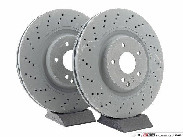 Genuine mercedes benz 2034210912kt front brake rotors for Mercedes benz rotors