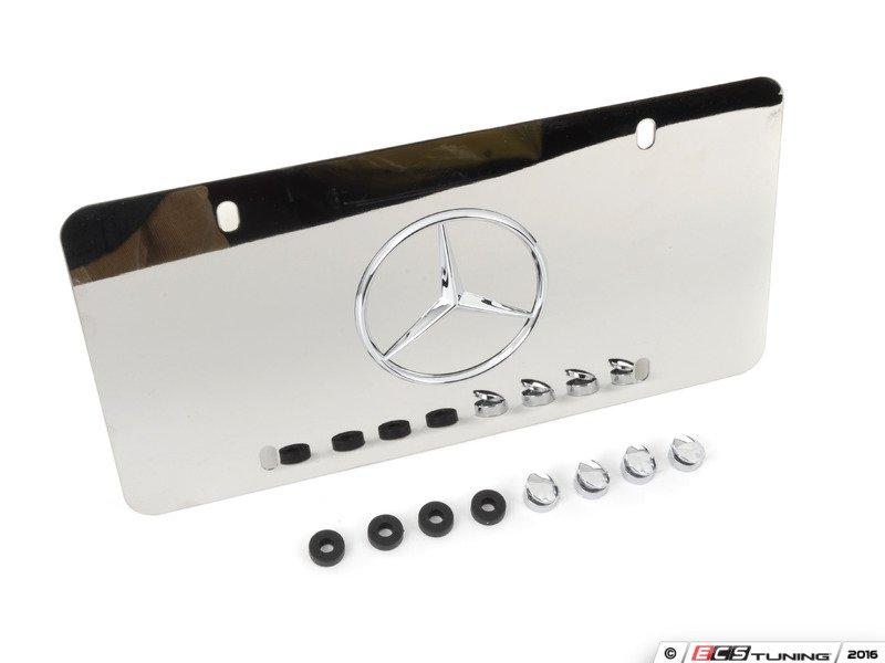 Genuine mercedes benz q6880058 license plate frame for Mercedes benz vanity license plates