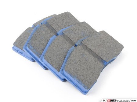 ES#521156 - DP5997NDX - Front BlueStuff Performance Brake Pads - Race inspired performance, NDX formula provides a great initial bite - EBC - Audi Volkswagen Porsche