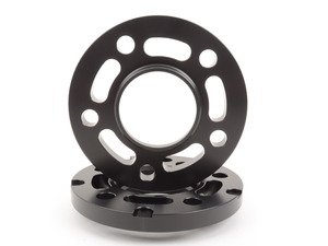 ES#3021157 - TWHF9905F15BLACK - 15mm Big Pad Wheel Spacers - Black (Pair) - Lightweight wheel spacers with a machined tab for easy removal - designed to work with modern large-pad BMW wheels! See description for details. - Turner Motorsport - BMW