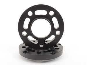 ES#3021159 - TWHF9905F18BLACK - 17.5mm Big Pad Wheel Spacers - Black (Pair) - Lightweight wheel spacers with a machined tab for easy removal - designed to work with modern large-pad BMW wheels! See description for details. - Turner Motorsport - BMW