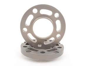 ES#3021140 - TWH9905K18 - 17.5mm Wheel Conversion Spacers - Silver (Pair) - Convert to 72.6mm CB with these lightweight wheel spacers with a machined tab for easy removal - Turner Motorsport - BMW