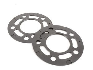 ES#3021149 - TWHF9905F04BLACK - 3mm Big Pad Wheel Spacers - Black (Pair) - Lightweight wheel spacers with a machined tab for easy removal - designed to work with modern large-pad BMW wheels! See description for details. - Turner Motorsport - BMW