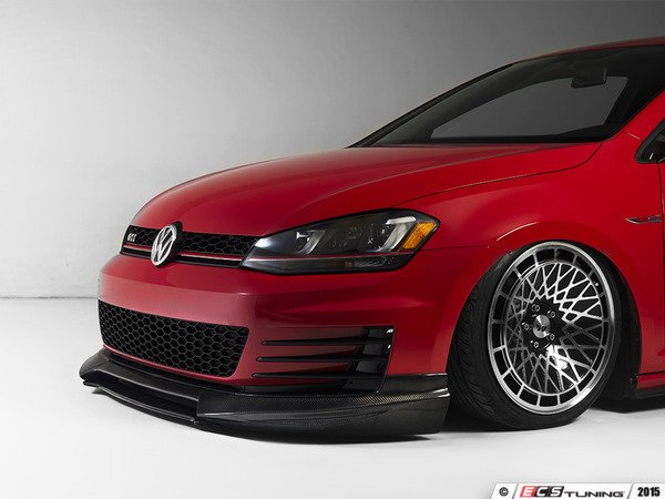 ES#3022385 - 014281ecs01aKT - Front Lip Spoiler Kit - Carbon Fiber - Front lip made from real carbon fiber - ECS - Volkswagen