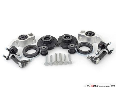 ES#2210290 - 1K01991 - Front Suspension Refresh Kit - Stage 1 - Featuring ECS upgraded upper strut mounts! Includes tie rod ends, strut mounts, ball joints, front control arm bushings and rear mounts. - Assembled By ECS - Volkswagen