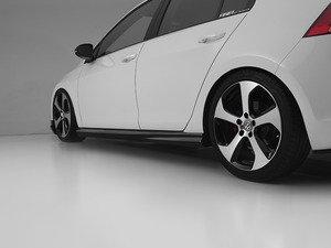 ES#3046087 - 014281ECS03AKT - Side Skirt Set - Carbon Fiber - 4 Door Model - High quality side skirts made from real carbon fiber - ECS - Volkswagen