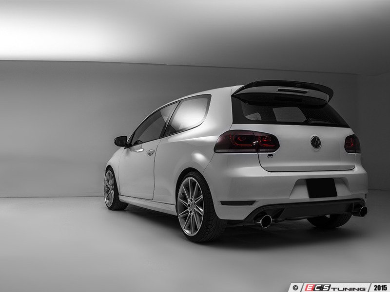 ecs news vw mk6 gti ecs carbon fiber hatch spoilers. Black Bedroom Furniture Sets. Home Design Ideas