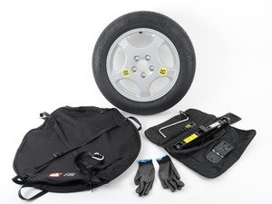 ES#2960043 - 36112159862 - Spare Tire Kit - Add convenience and peace of mind, and ditch the run flats! - Genuine European BMW - BMW