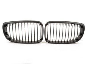 ES#2189844 - BM01-8201-B - Blackout Grille Set - Matte Black - Add style and individuality to your BMW in minutes - ECS - BMW