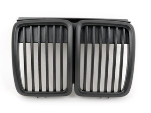 ES#1892367 - BM01-3001-B - Blackout Grille Set (Matte Black) - Add Euro styling to your BMW in minutes! - ECS - BMW
