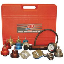 ES#2932379 - ATD3300 - Radiator Pressure Test kit 14 pc - Adapters for most European and domestic vehicles - ATD Tools - Audi BMW Volkswagen Mercedes Benz MINI Porsche