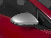 ES#2959943 - 014300ECS01A-03 -  Mirror Cap Set - Brushed Aluminum - Replacement side mirror caps finished in brushed aluminum-look plating - ECS - Volkswagen