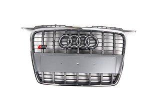 ES#1279872 - 8P0853651A1RR - S3 Grille - Platinum - Genuine European Volkswagen Audi -