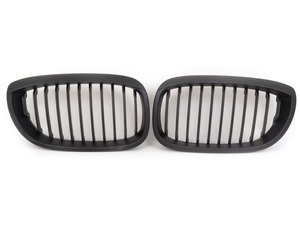 ES#1005630 - BM01-4604-B - Blackout Grille Set - Matte Black - Add style and individuality to your BMW in minutes - Turner Motorsport - BMW