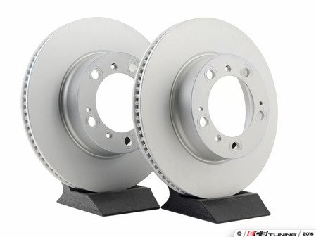 """ES#2847675 - 98635140105KT14 - Coated Front Brake Rotors - Pair 11.73"""" (298mm) - Front axle fitment - Both left and right - ATE - Porsche"""