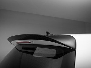 ES#3085965 - 015436ECS04-01 - Sport Style Hatch Spoiler - Carbon Fiber - Reduce drag and add an aggressive look to the rear of your car - ECS - Volkswagen