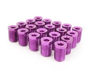 ES#3006137 - AR0898PR - Lug Nut Cap - Set Of 20 - Purple - Billet Aluminum Anodized Lug nut caps - Arospeed - Audi Volkswagen