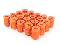 ES#3006136 - AR0898OG - Lug Nut Cap - Set Of 20 - Orange - Billet Aluminum Anodized Lug nut caps - Arospeed - Audi Volkswagen
