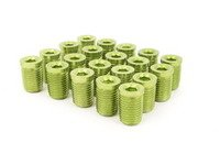 ES#3006134 - AR0898GR - Lug Nut Cap - Set Of 20 - Green - Billet Aluminum Anodized Lug nut caps - Arospeed - Audi Volkswagen