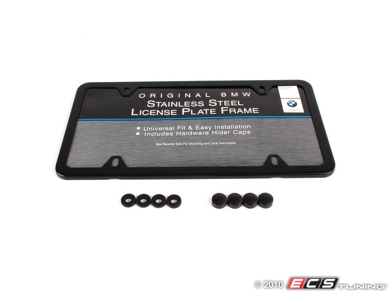 license plate frame black gloss black license plate frame from bmw. Cars Review. Best American Auto & Cars Review