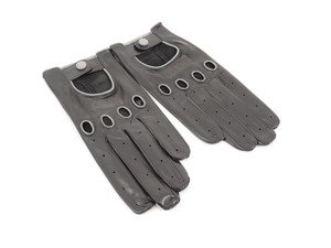 ES#2662313 - AHP7078 - Leather Gloves - Leather driving gloves garnished with the Audi logo - Genuine Volkswagen Audi - Audi
