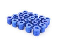 ES#3006130 - AR0898BL - Lug Nut Cap - Set Of 20 - Blue - Billet Aluminum Anodized Lug nut caps - Arospeed - Audi Volkswagen