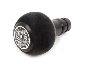 ES#3022041 - GS2SU - BFI Heavy Weight Shift Knob SCHWARZ - Black Alcantara  - Weighing in at approximately 215 grams the added inertial mass makes shifting effort substantially less while speeding up the process at the same time. - Black Forest Industries - Audi Volkswagen