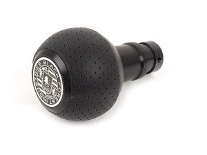 ES#3022038 - GS2S - BFI Heavy Weight Shift Knob SCHWARZ - Air Leather  - Weighing in at approximately 215 grams the added inertial mass makes shifting effort substantially less while speeding up the process at the same time. - Black Forest Industries - Audi Volkswagen