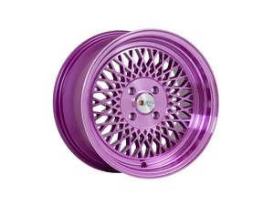 "ES#3023262 - F01168MP25KT - 16"" F01 - Set Of Four  - 16""x8"" ET25 4x100/4x114.3 - Machine Purple - F1R Wheels - BMW Volkswagen"