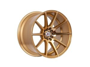 "ES#3028661 - F17188510HGDSTKT - 18"" F17 - Set Of Four - 18""x8.5"" ET38 / 18""x9.5"" ET35 5x100/5x114.3 - Machine Gold - F1R Wheels - Volkswagen"