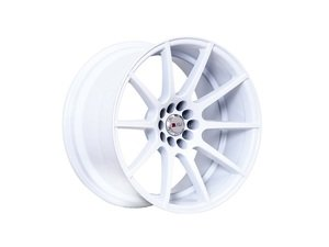 "ES#3028634 - F1717910H25WKT - 17"" F17 - Set Of Four - 17""x9"" ET25 5x100/5x114.3 - White - F1R Wheels - Volkswagen"