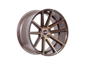 "ES#3046079 - F27188510HBZ40KT - 18"" F27 - Set Of Four - 18""x8.5"" ET40 5x100/5x114.3 - Machined Bronze - F1R Wheels - Audi Volkswagen"