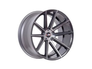 "ES#3046092 - F2718955112M45KT - 18"" F27 - Set Of Four - 18""x9.5"" ET45 5x112/5x114.3 - Machined Gunmetal - F1R Wheels - Audi Volkswagen"
