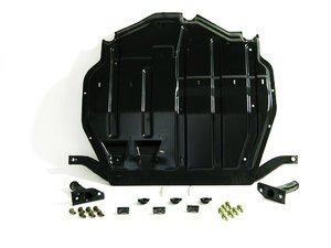 ES#2075230 - 1J0698931 -  Heavy Duty Steel Skid Plate Kit - Extreme protection for your oil pan - Genuine Volkswagen Audi - Volkswagen