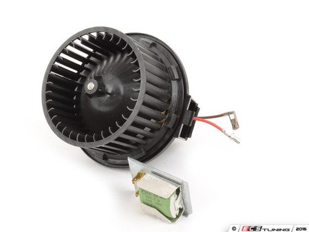 ES#252974 - 191959001 - Blower Motor And Resistor Kit - Complete kit including the resistor that blows when the blower motor goes out - Assembled By ECS - Volkswagen