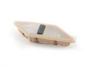 ES#175536 - 63318376859 - Beige Rear Reading Light - Left - Rear light assembly located on the C pillar - Genuine BMW - BMW